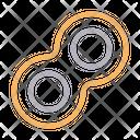 Cells Molecule Atoms Icon