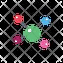 Cells Atoms Molecule Icon