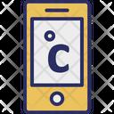 Celsius App Centigrade Online Weather Icon