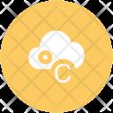 Celsius Cloud Degree Icon