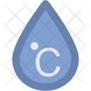 Celsius Drop Degree Icon
