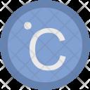 Celsius Degree Temperature Icon