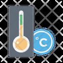 Celsius Temperature Forecast Icon