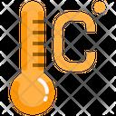 Celsius Thermometer Temperature Icon