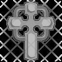 Celtic Cross Religion Cultures Icon