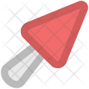 Cement Trowel Hand Icon