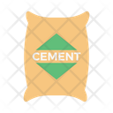 Cement Building Construction Icon