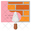Cement Wall Brick Icon