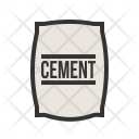 Cement Bag Sack Icon