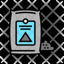 Cement Bag Color Icon