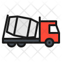 Truck Cement Vehicle Icon