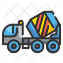 Cement Mixer Mixer Truck Cement Truck Icon