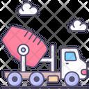 Cement Mixer Icon