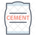 Cement Cement Bag Cement Sack Icon