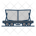 Cement Railway Carriage Icon
