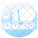 Cement Truck Delivery Truck Construction Logistics Icon