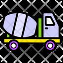 Cement Truck Icon