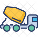 Vehicle Roller Mixer Icon