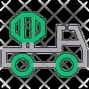 Cement Truck Concrete Mixer Cement Mixer Icon