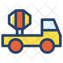 Cement Truck Worker Project Icon
