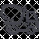 Truck Cement Cargo Icon