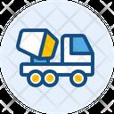 Cement Truck Concrete Mixer Concrete Truck Icon