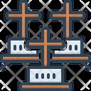 Cemeteries Graveyard Sheol Icon