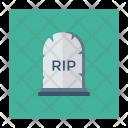Coffin Grave Cemetery Icon
