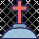 Cemetery Christian Graveyard Christianity Icon
