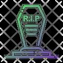 Cemetery Grave Rip Icon