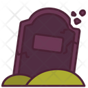 Cemetery Halloween Scary Icon