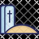 Cemetery Christian Grave Grave Icon