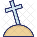 Cemetery Cross Death Icon