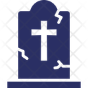 Cemetery Dead Grave Icon
