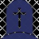Cemetery Death Grave Icon