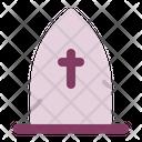 Graveyard Cemetery Grave Icon