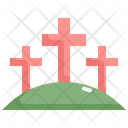 Cross Easter Day Icon