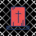 Cemetery Rip Grave Icon