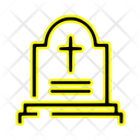 Cemetery Tomb Tombstone Icon