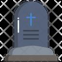 Cemetery Grave Graveyard Icon