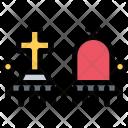 Cemetery City House Icon