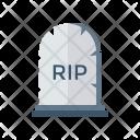 Cemetery coffin Icon