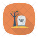 Cemetery Rip Icon