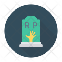 Cemetry Coffin Casket Icon