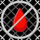 Cancel Drop Censor Icon
