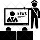 News Censor Censorship Icon