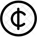 Cent Currency Coin Icon