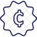 Cent Cent Currency Currency Icon