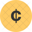Cent Centavo Currency Icon