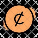 Cent Coin Icon